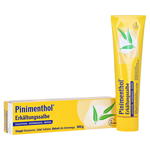 Pinimenthol Erk�ltungssalbe 100 Gramm N3