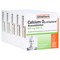 CALCIUM D3 ratiopharm Brausetabletten