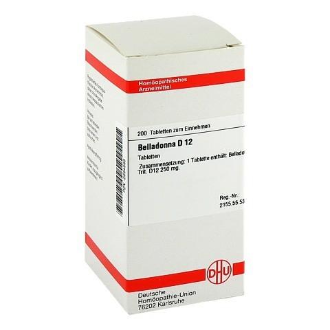 BELLADONNA D 12 Tabletten 200 Stück N2