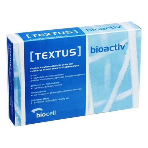TEXTUS BIOACTIV 10x15cm Aquafaserkompresse 10 Stück