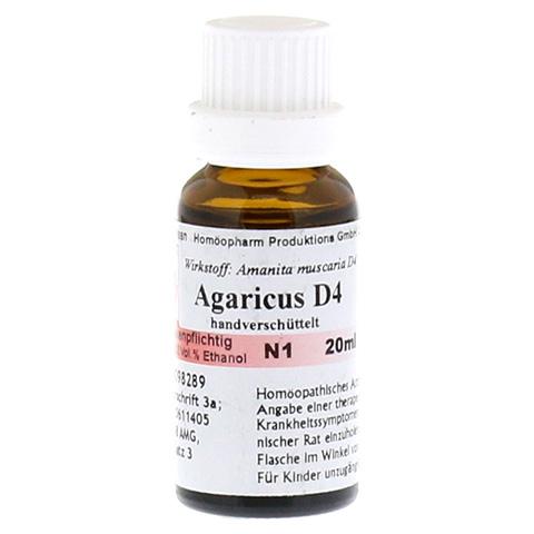 AGARICUS MUSCARIUS D 4 Dilution 20 Milliliter N1