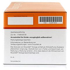 Mucofalk Orange Beutel 100 Stück - Rechte Seite