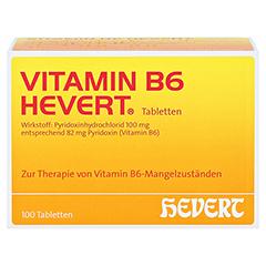 VITAMIN B6 Hevert Tabletten 100 Stück N3 - Vorderseite