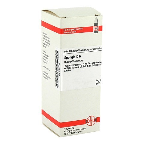 SPONGIA D 6 Dilution 50 Milliliter N1