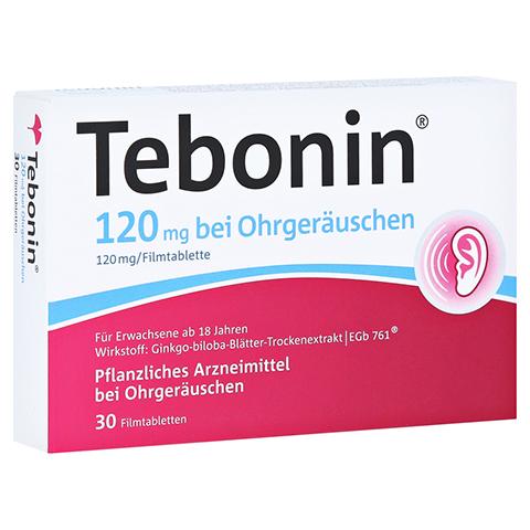 Tebonin 120mg bei Ohrger�uschen 30 St�ck N1