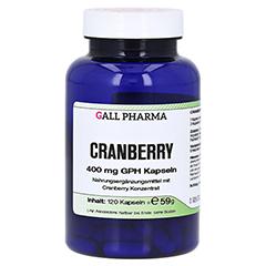 CRANBERRY 400 mg GPH Kapseln 120 St�ck