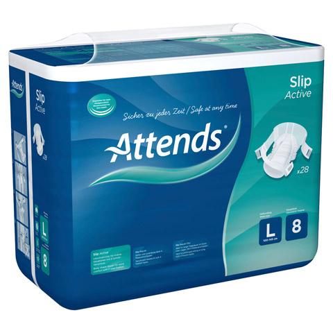 ATTENDS Slip Active 8 large 4x28 St�ck