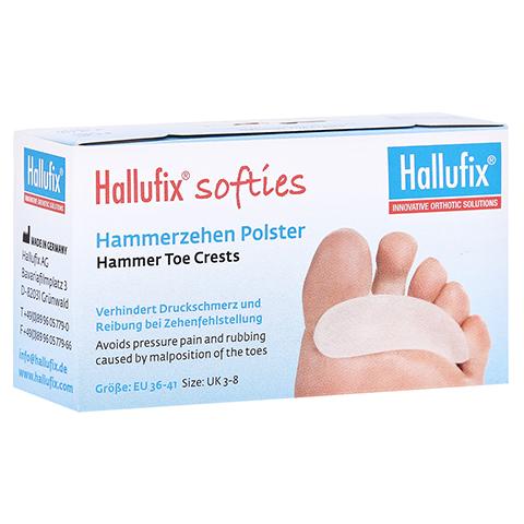 HALLUFIX softies Hammerzehenpolster Gr.M 36-41 2 St�ck