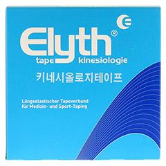KINESIOLOGIE Tape Elyth 5 cmx32 m blau 1 St�ck - Vorderseite