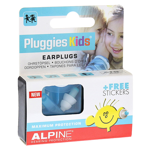 ALPINE PLUGGIES Kids Ohrstöpsel 2 Stück