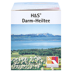 H&S Darm-Heiltee Filterbeutel 20 Stück - Rechte Seite