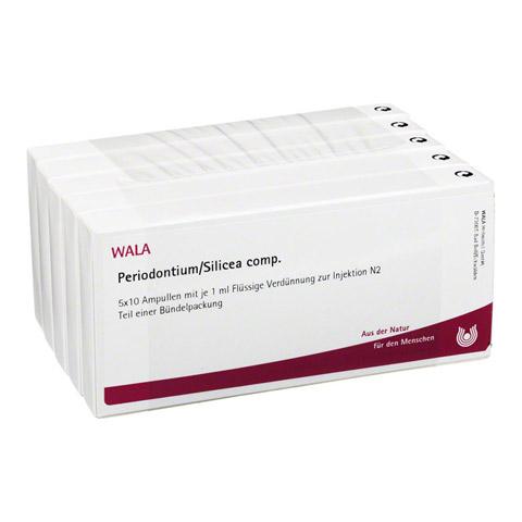 PERIODONTIUM/ SILICEA COMP.Ampullen 50x1 Milliliter N2