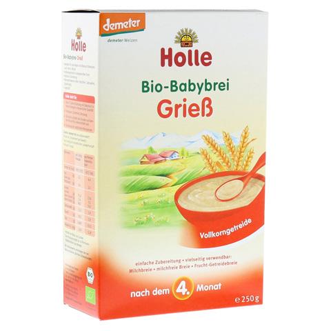 HOLLE Bio Babybrei Grieß 250 Gramm
