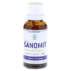 SANOMIT Ubiquinon Tropfen 30 Milliliter