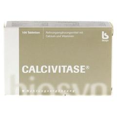 CALCIVITASE Calciumtabl 100 St�ck - Vorderseite
