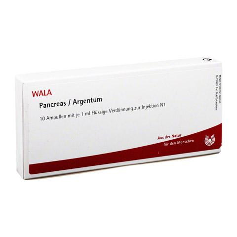 PANCREAS/ ARGENTUM Ampullen 10x1 Milliliter N1