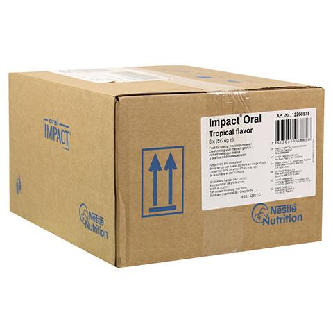 ORAL IMPACT Tropic 5x74 g Pulver 6 Stück