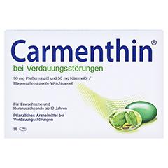 Carmenthin bei Verdauungsstörungen 14 Stück - Vorderseite