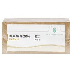 FRAUENMANTEL Tee Filterbeutel 25 Stück - Vorderseite