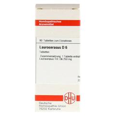 LAUROCERASUS D 6 Tabletten 80 Stück N1 - Vorderseite