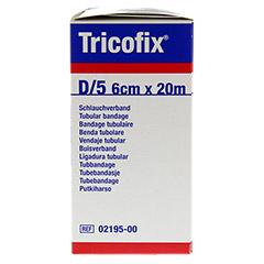 TRICOFIX Schlauchverband Gr.D 6 cmx20 m 1 Stück - Rechte Seite