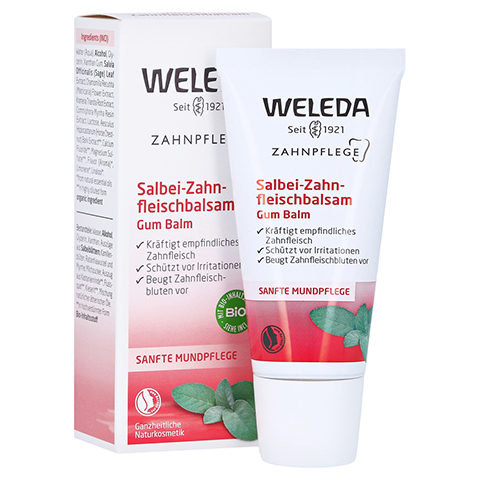 WELEDA Salbei Zahnfleisch Balsam 30 Milliliter