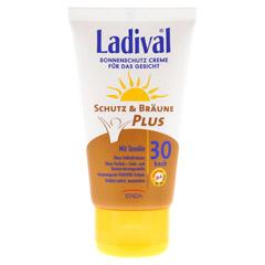 LADIVAL Schutz&Br�une Plus Creme f.Gesicht LSF 30 75 Milliliter