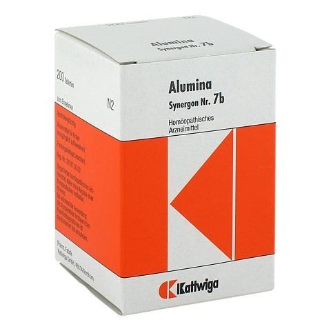 SYNERGON KOMPLEX 7 b Alumina Tabletten 200 St�ck