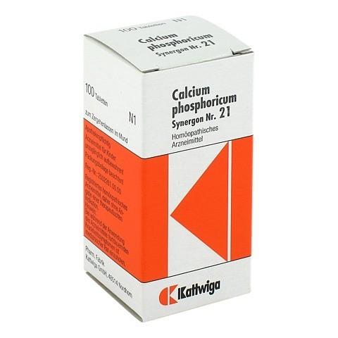 SYNERGON KOMPLEX 21 Calcium phosphoricum Tabletten 100 St�ck