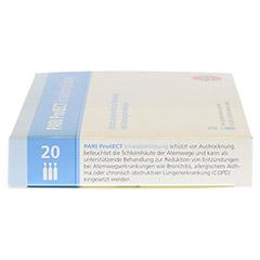 PARI ProtECT Inhalationslösung mit Ectoin Ampullen 20x2.5 Milliliter - Linke Seite