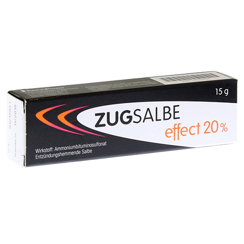 ZUGSALBE effect 20% Salbe 15 Gramm
