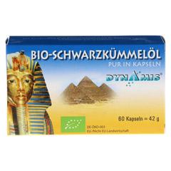 SCHWARZKÜMMEL ÄGYPT pur Kapseln 60 Stück - Vorderseite