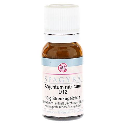 ARGENTUM NITRICUM D 12 Globuli 10 Gramm