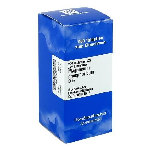 BIOCHEMIE 7 Magnesium phosphoricum D 6 Tabletten 200 Stück N2