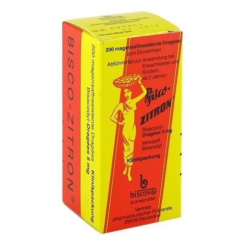 Bisco-Zitron magensaftresistent 200 St�ck