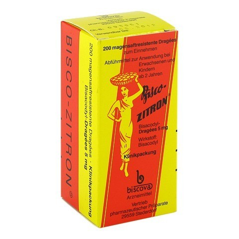 Bisco-Zitron magensaftresistent 200 Stück