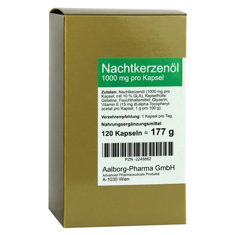 NACHTKERZENÖL 1000 mg pro Kapsel 120 Stück