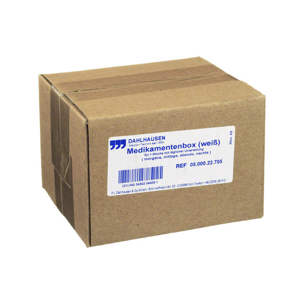 medikamentenbox 1 woche preisvergleiche erfahrungsberichte und kauf bei nextag. Black Bedroom Furniture Sets. Home Design Ideas