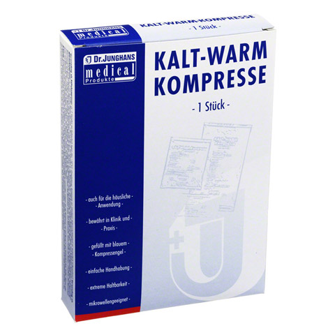 KALT-WARM Kompresse 12x29 cm mit Vliesh�lle 1 St�ck