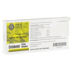 CEFABENE Cistus Komplex Injektionslösung 10x1 Milliliter N1