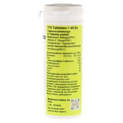 MAGNESIUM 350+Vitamin E Tabletten 110 Stück - Rechte Seite