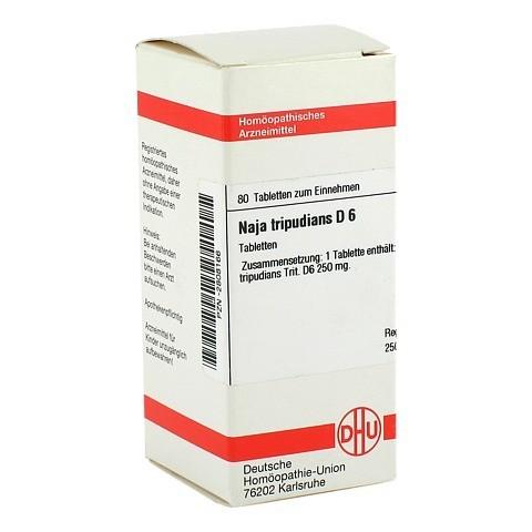 NAJA TRIPUDIANS D 6 Tabletten 80 Stück N1