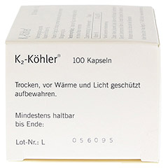 K2-K�HLER Kapseln 100 St�ck - Rechte Seite