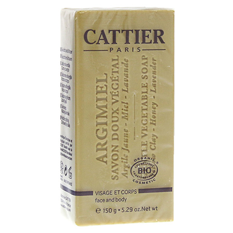 CATTIER Heilerde Seife normale bis Mischhaut 150 Gramm