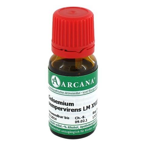 GELSEMIUM SEMPERVIRENS Arcana LM 18 Dilution 10 Milliliter N1