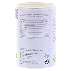 INULIN 100% Bio Pulver 180 Gramm - Rechte Seite