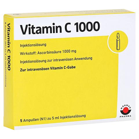 VITAMIN C 1000 Ampullen 5x5 Milliliter N1