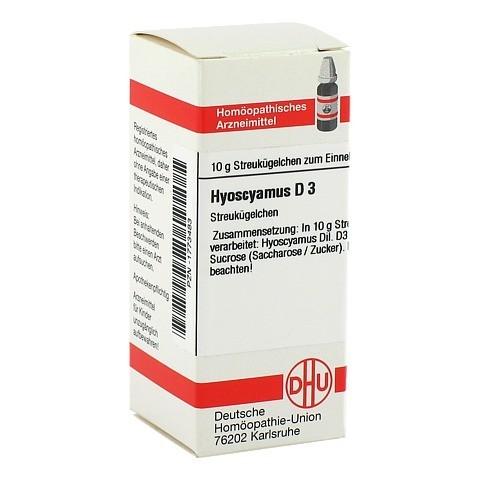HYOSCYAMUS D 3 Globuli 10 Gramm N1