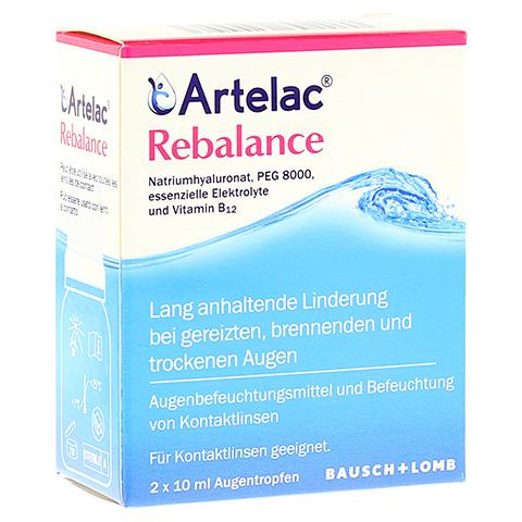 ARTELAC Rebalance Augentropfen 2x10 Milliliter