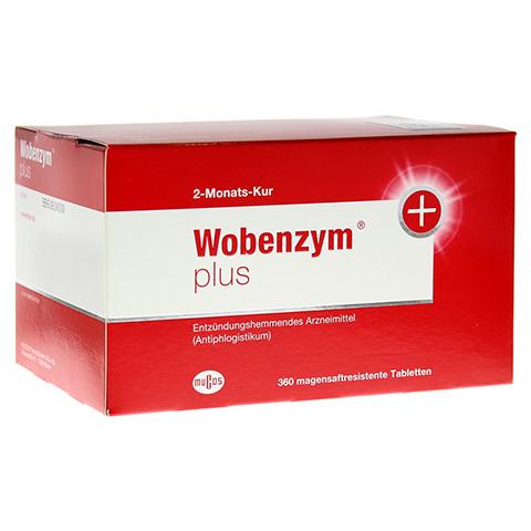 WOBENZYM Plus magensaftresistente Tabletten 360 Stück